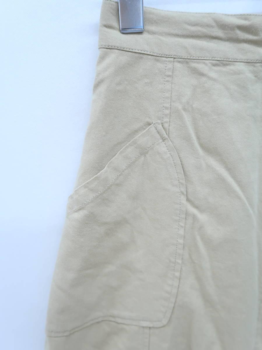 MURUA(ムルーア)スカーフドッキングスカート ベージュ/紺 レディース Aランク F [委託倉庫から出荷]