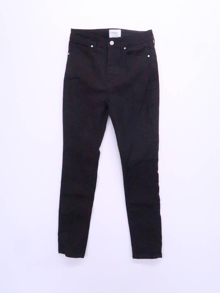 【送料無料】eimy istoire(エイミーイストワール)Black eimyベーシックスキニーパンツ 黒 レディース 新品 25 [委託倉庫から出荷]