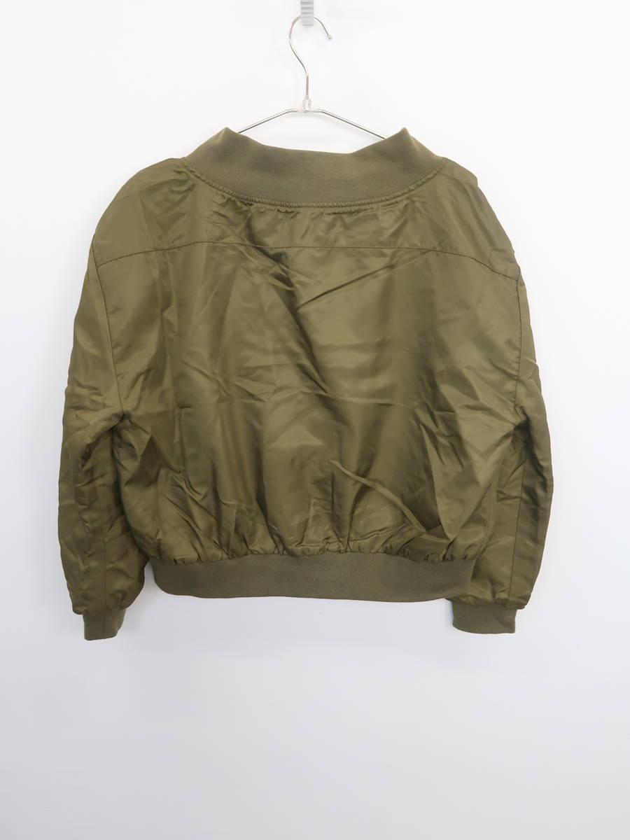 EMODA(エモダ)[2019]2WayルーズMA-1 長袖 緑 レディース Aランク F [委託倉庫から出荷]