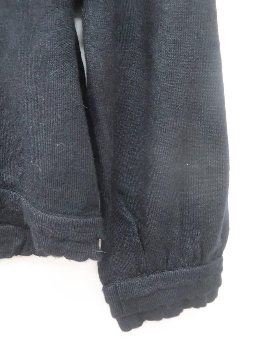 WILLSELECTION(ウィルセレクション)ショート丈ニットカーディガン 七分袖 黒 レディース A-ランク 1 [委託倉庫から出荷]