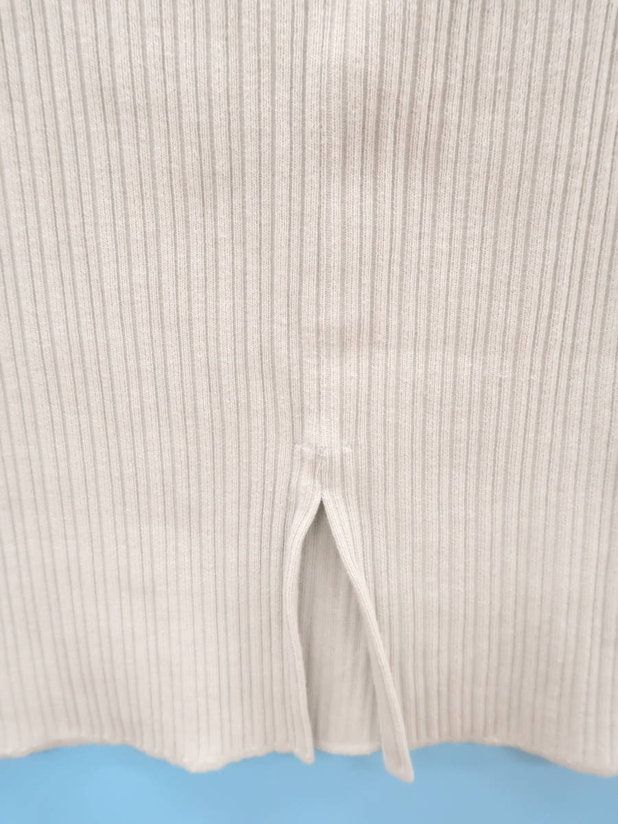 STUDIOUS(ステュディオス)リブニットスカート グレー レディース Aランク F [委託倉庫から出荷]