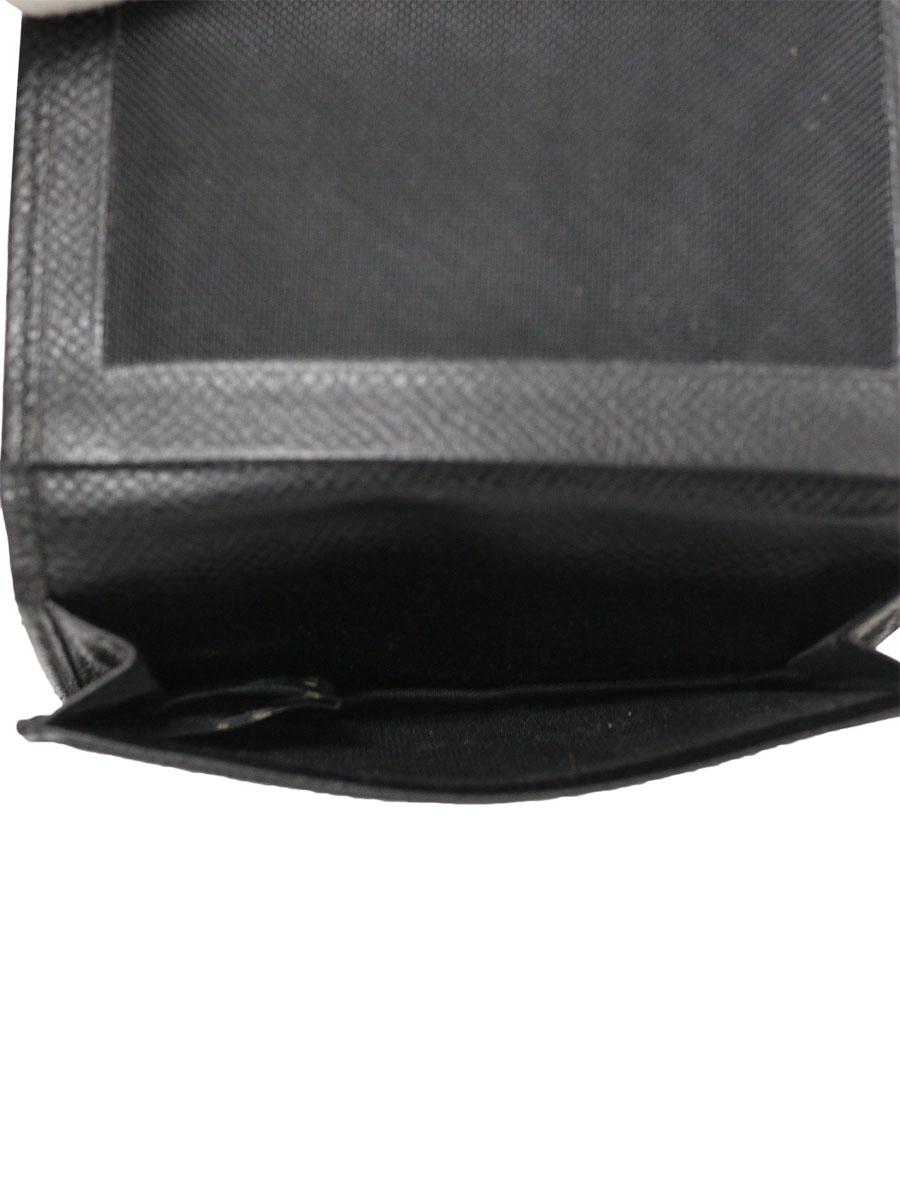 BVLGARI(ブルガリ)名刺入れ カードケース パスケース 黒 メンズ A-ランク [当店倉庫から出荷]
