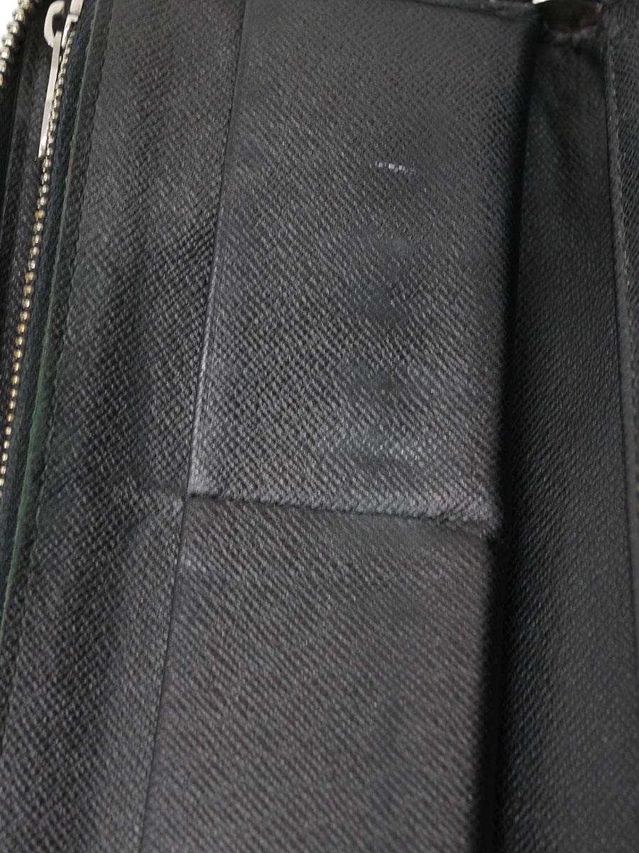 【送料無料】LOUIS VUITTON(ルイヴィトン)ダミエ・グラフィット ジッピーウォレット ヴェルティカル コバルト N63095 長財布 ロングウォレット 黒 レディース Cランク [当店倉庫から出荷]