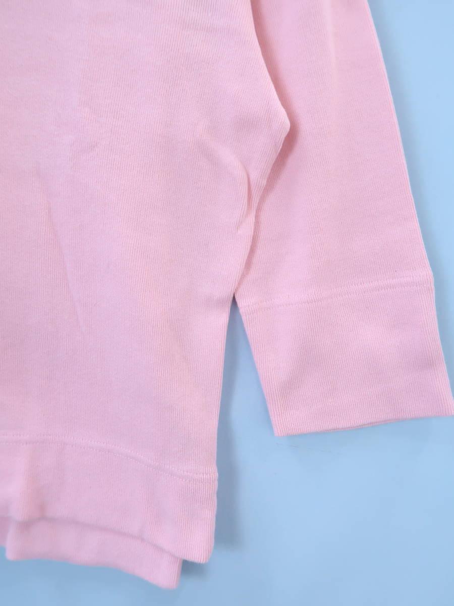 Ralph Lauren(ラルフローレン)ベーシックカーディガンアンサンブル 七分袖 ピンク レディース A-ランク M
