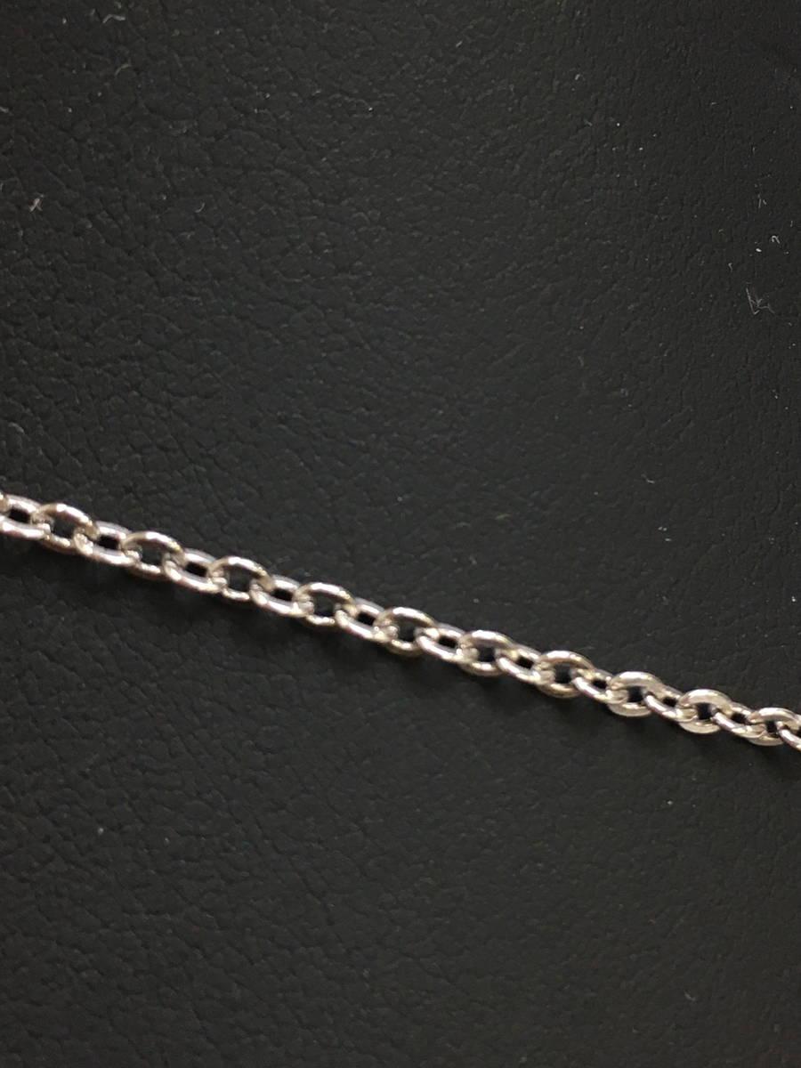 Dior(ディオール)ハートロゴネックレス シルバー レディース Aランク [委託倉庫から出荷]