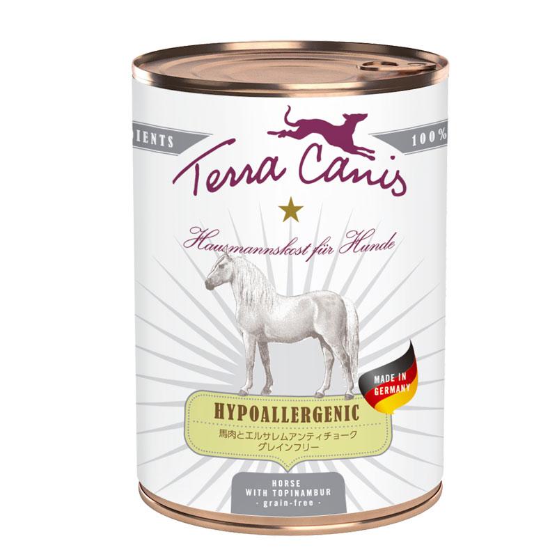 テラカニス ハイポアレルジェニック馬肉缶