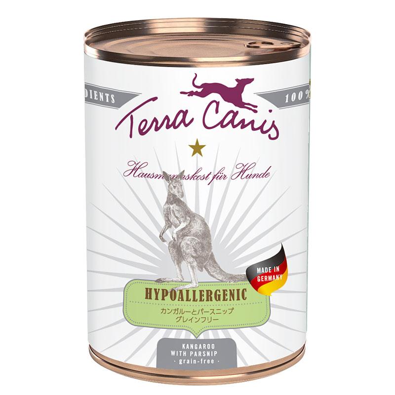 テラカニス ハイポアレルジェニックカンガルー肉缶