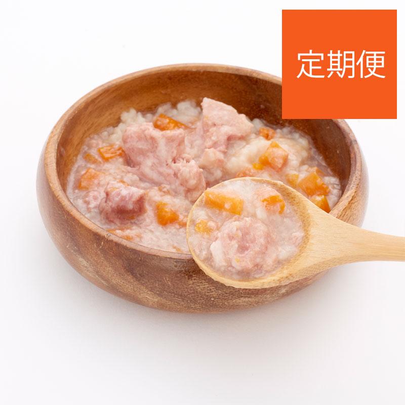 【定期購入】わんのはなボーノサルテ レトルトおじや 国産豚とにんじんのほろほろ煮