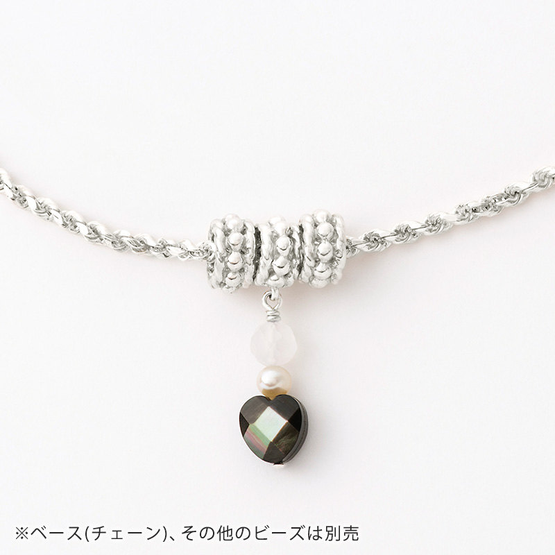 蟹座 × 山羊座ジュエリー : Moon Charm [ ゴールド / シルバー ]