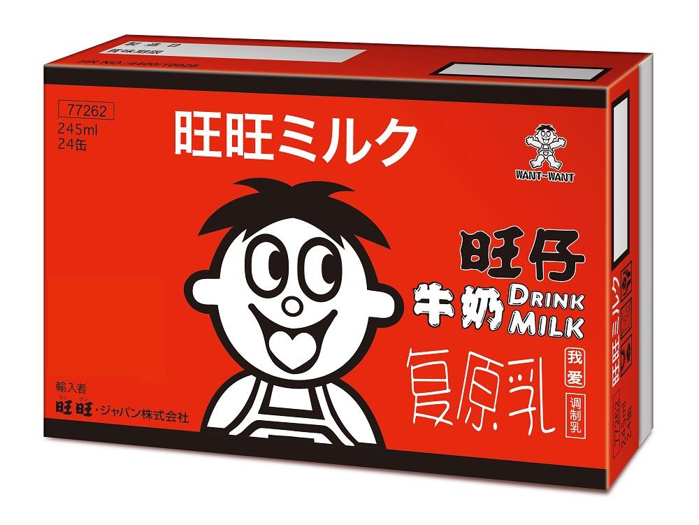 【送料無料】 旺旺ミルク 24缶セット