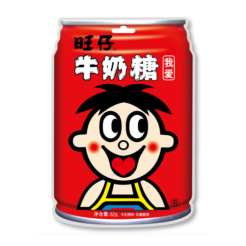 旺旺ミルクキャンディー