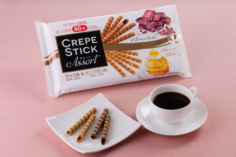 クレープスティックアソート チョコ味&モンブラン味