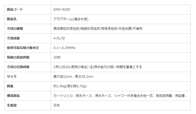 【22%OFF】浄水器アクアホーム(複合水栓型)【直送・送料無料】
