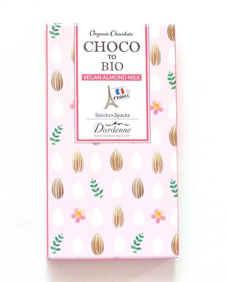 【再開】チョコっとビオ 有機ココシュガーチョコ・アーモンドミルク