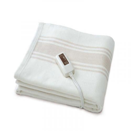 電磁波99%カット 電気掛敷オーガニックコットン毛布