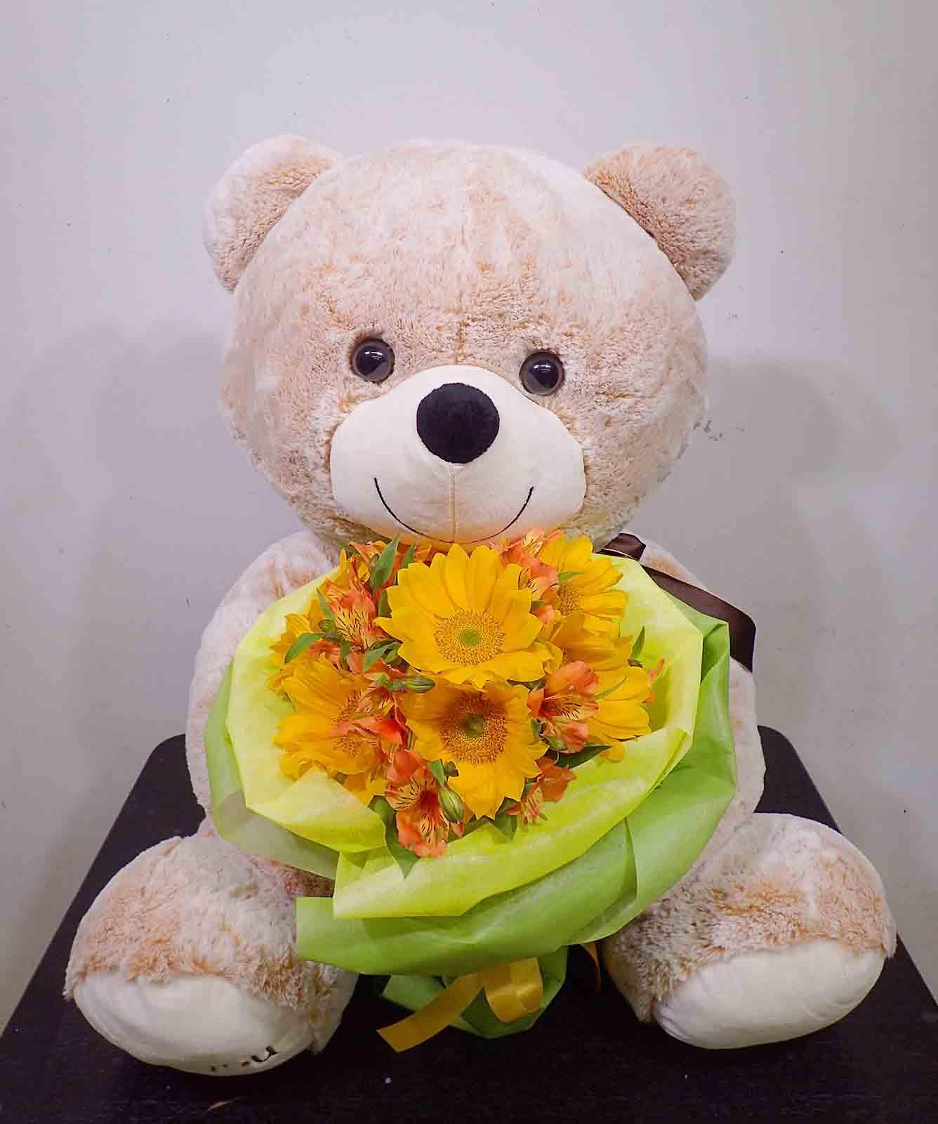 花束【B-0082】特大くま