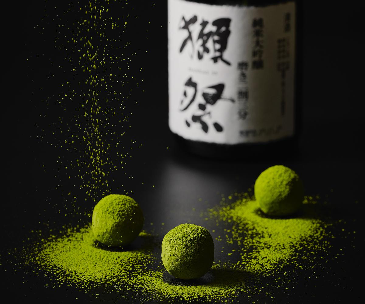【父の日限定】獺祭抹茶トリュフ 4個入