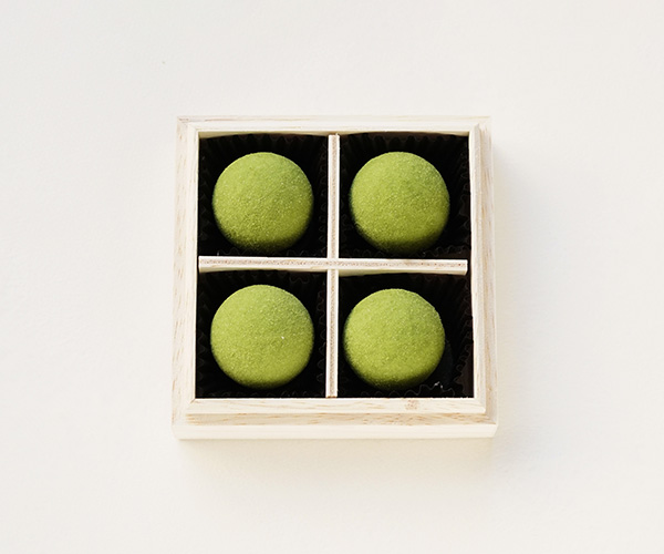 【Web限定】甘酒抹茶トリュフ 4個入