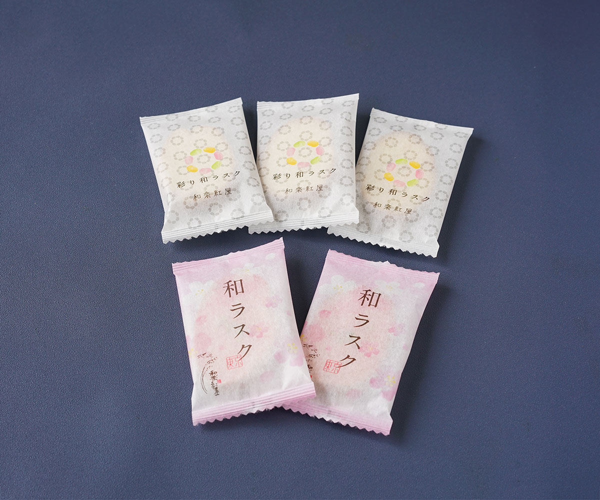 彩り和ラスク 桜 4枚入