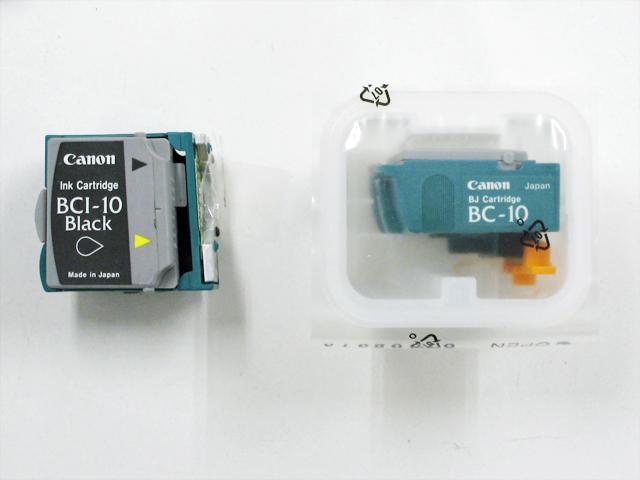 BC-10 プリントカートリッジ+インク (新品)