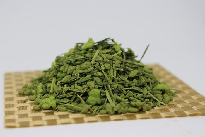 抹茶入かりがね玄米茶 (400g)