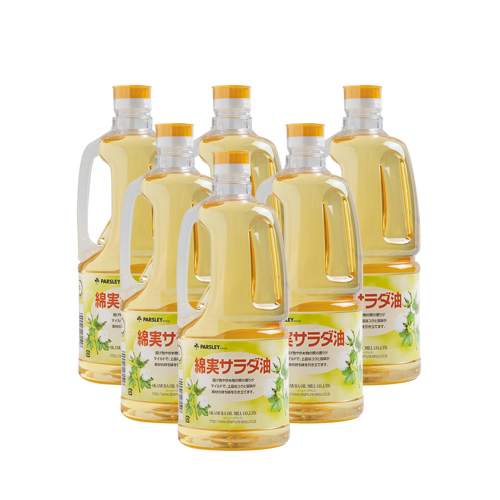 (PB-6)綿実サラダ油1,380g 6本入り
