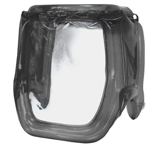 空気を入れてふくらませる新感覚のフェイスシールド Air Shield エア・シールド