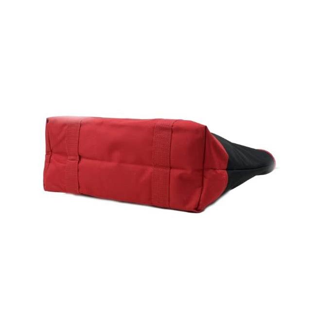 Trader Joe's トレーダージョーズ 保冷機能付きレジャーバッグ(黒×赤)