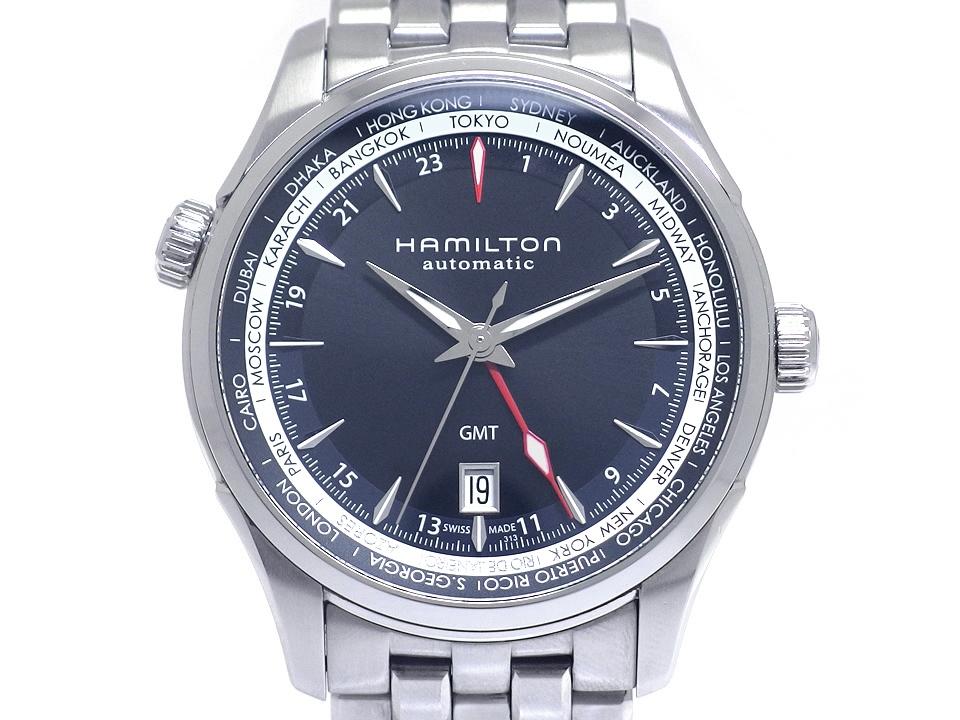 【美品】ハミルトン ジャズマスター GMT H32695131 自動巻 USED 2017年現行モデル Hamilton