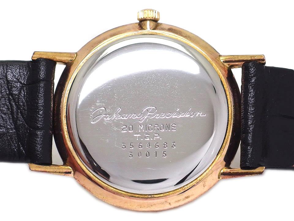 タカノ シャトー スーペリア GP 純正ベルト・尾錠付き Cal.521 19石 手巻 OH済 1960年頃