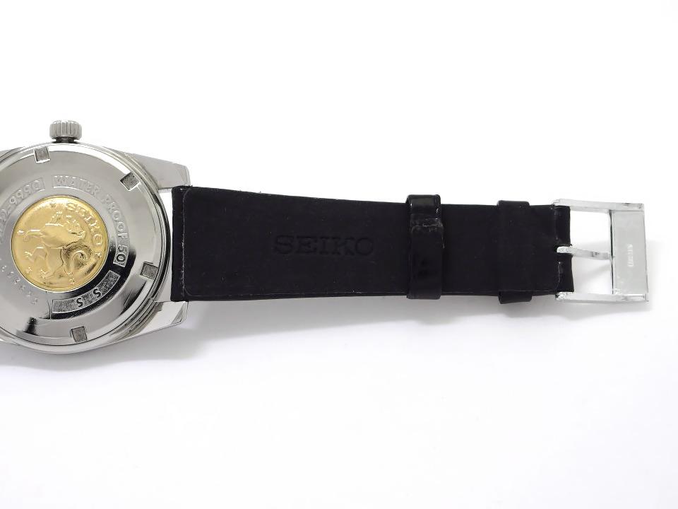 【希少】グランドセイコー セカンドモデル後期型 5722-9990 W SEIKOリューズ ライオンメダリオン 手巻 OH済 昭和40年/1965年製 Grand Seiko