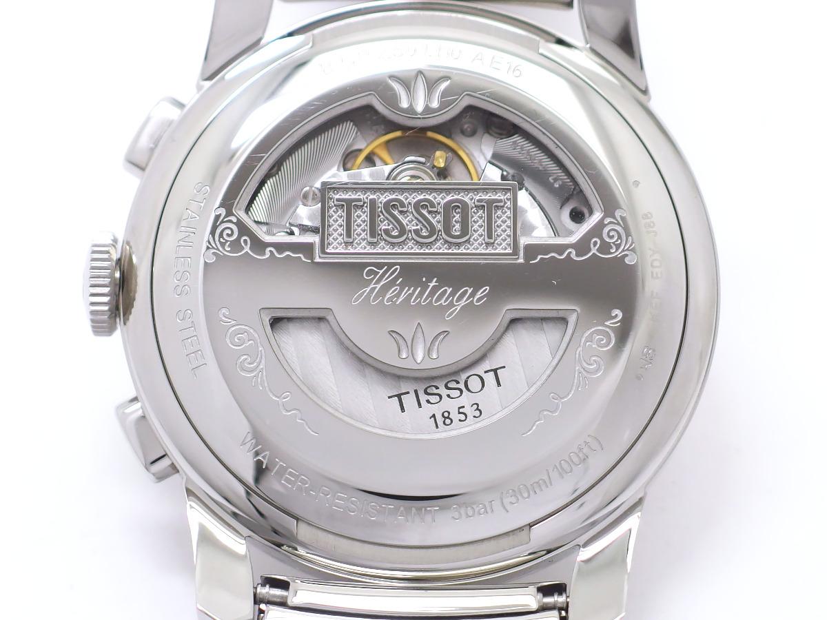 ティソ ヘリテージ1948 クロノ T66.1.782.33 純正ブレスレット ETA2894-2 自動巻 2017年頃 USED
