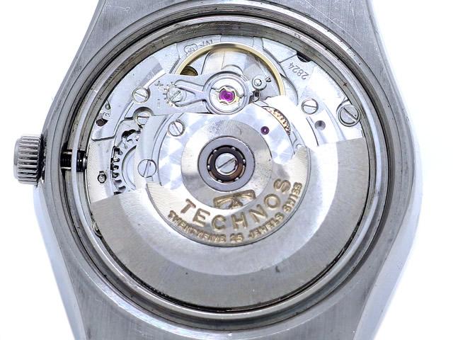 テクノス スカイマッチ 4-L3305 Cal.2824 自動巻 OH済 1970年代