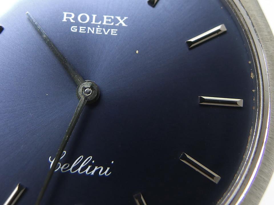 ロレックス チェリーニ Ref.3804 18Kホワイトゴールド Cal.1600 手巻 OH済 純正尾錠 1971年製 Rolex