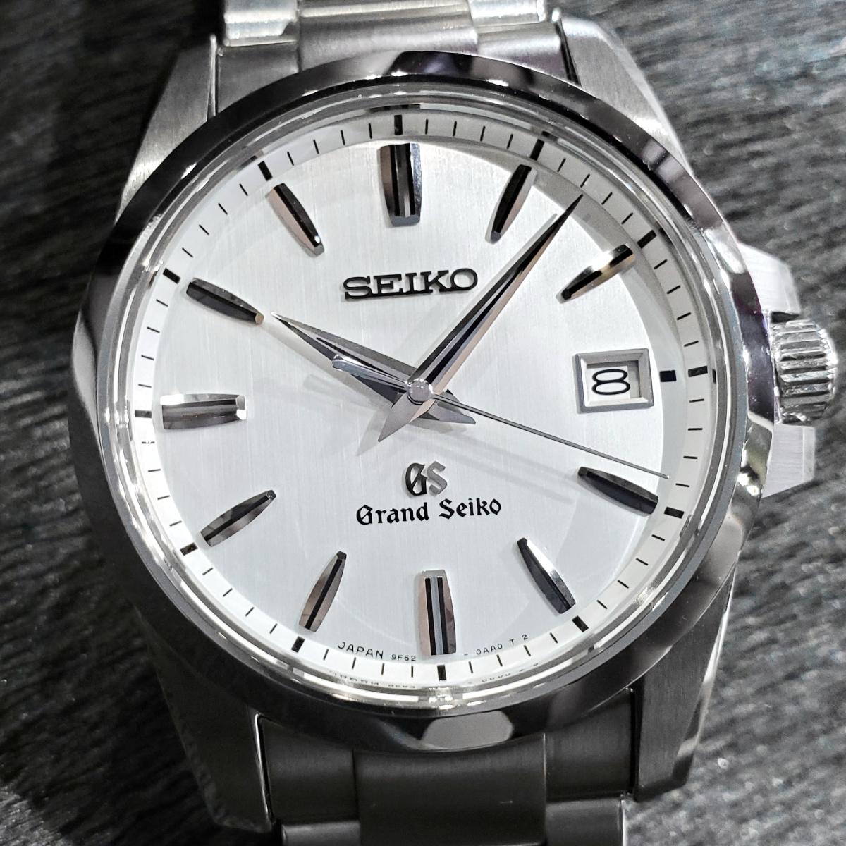 グランドセイコー SBGX057 9F62-0AA1 箱・取説・保証書付き クオーツ 2013年製 USED Seiko