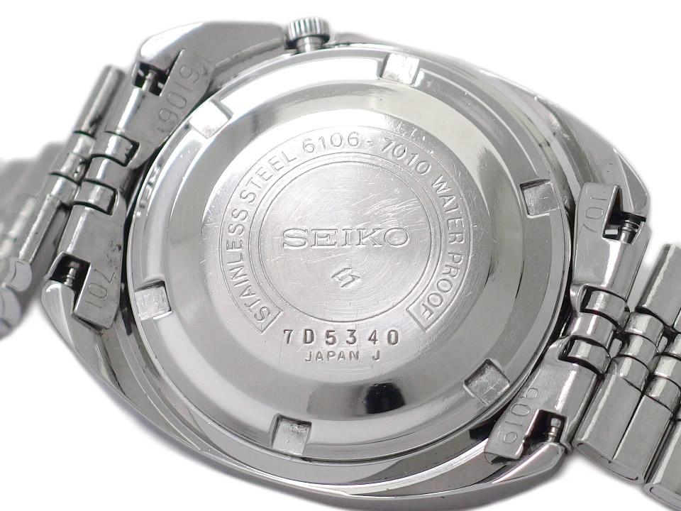 セイコー ファイブデラックス 5DX 6106-7010 25石 自動巻 OH済 昭和42年/1967年製