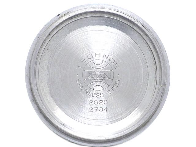 テクノス ハイビート HIBEATRON ETA2826 自動巻 OH済 1970年代