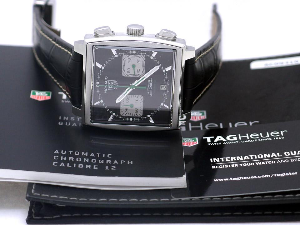 タグホイヤー モナコ レーシング CAW2117 400本限定 自動巻 OH済 2010年頃 USED TAG Heuer