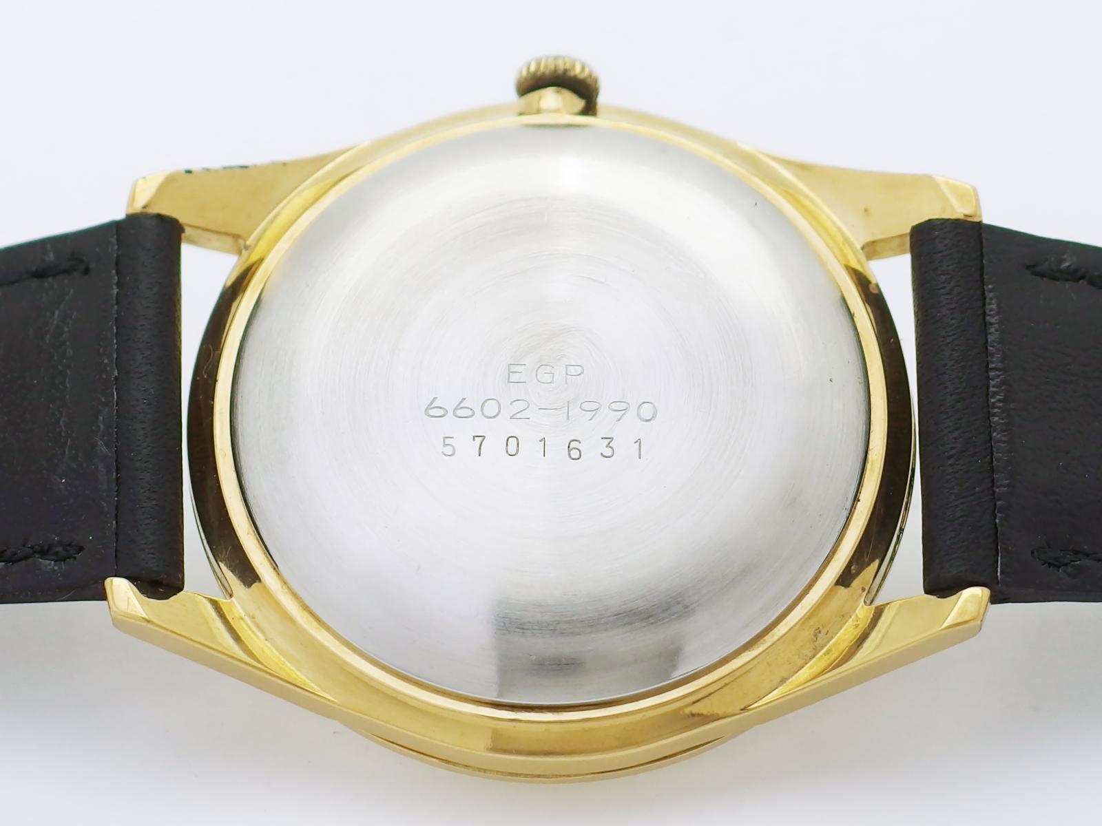 セイコー スポーツマン17 6602-1990 金メッキ Cal.6602B 17石 手巻 OH済 昭和40年/1965年製 Seiko