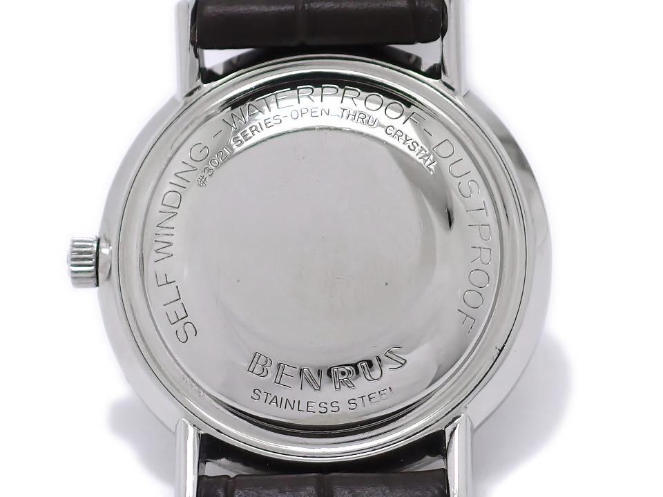ベンラス カレンダー ワンピースケース Cal.FE2D2(ETA2452) 自動巻 OH済 1960年代