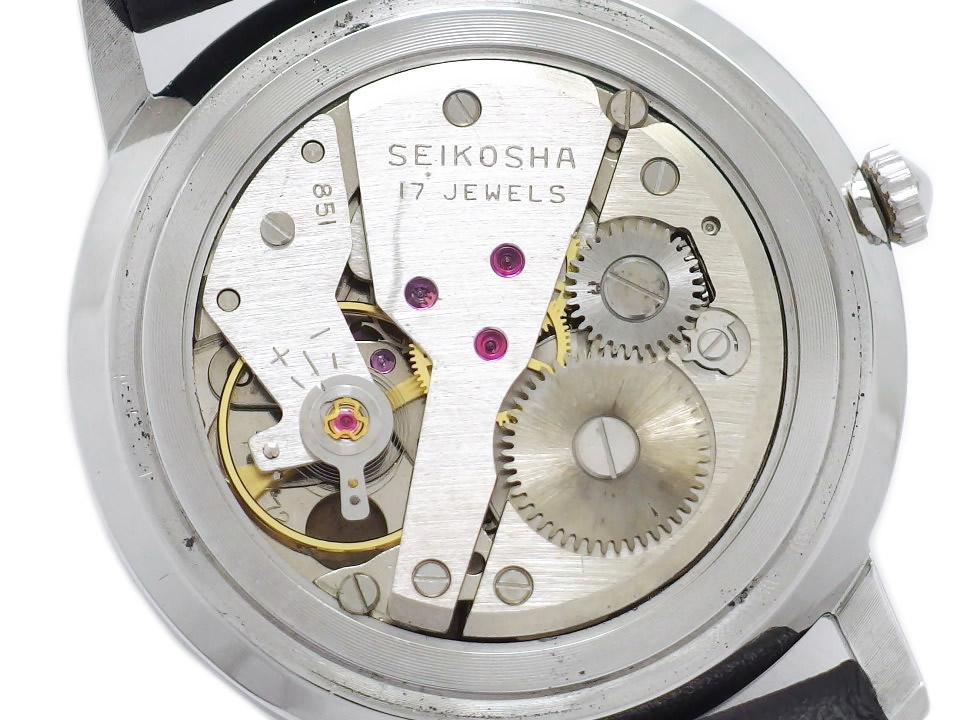 セイコー チャンピオン850 J15009 Cal.851 17石手巻 OH済 昭和37年/1962年製 Seiko