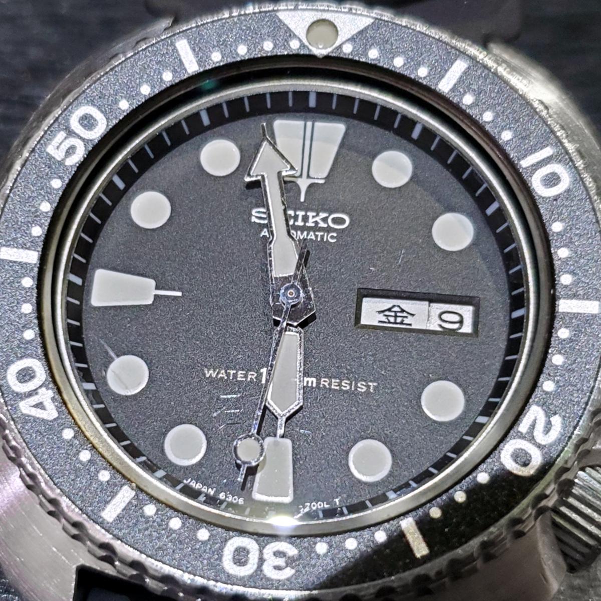 セイコー サードダイバー 6306-7001 国内仕様 Cal.6306A 自動巻 OH済 1979年/昭和54年製 Seiko