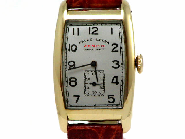 ゼニス K18 トノー 手巻 OH済 1950年代
