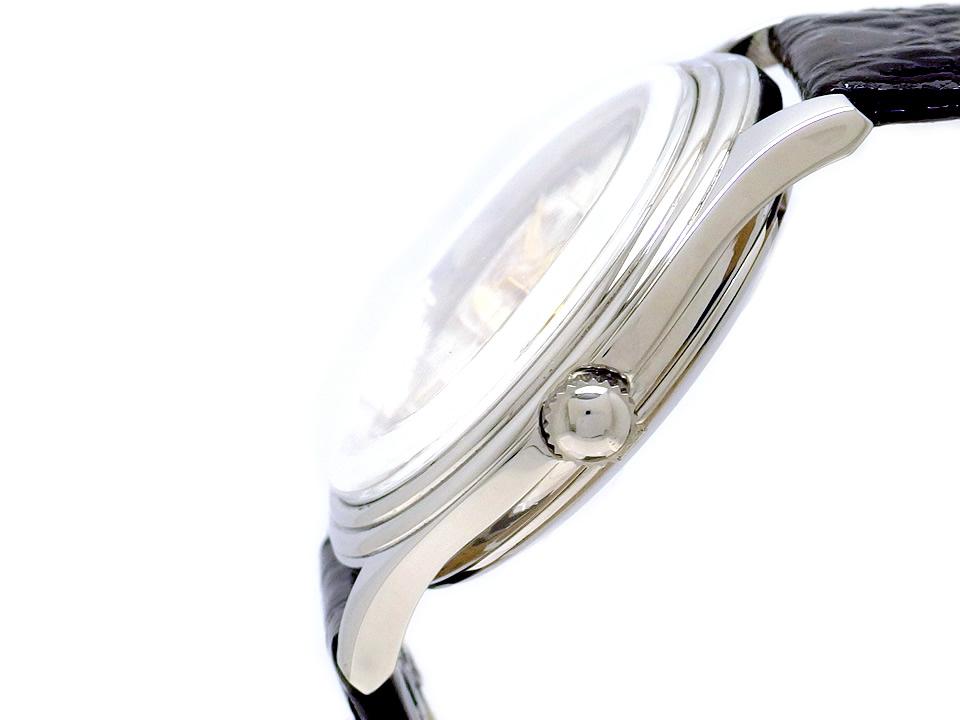 オリス ポインターデイト スモールセコンド 36mm メンズ Ref.640-7461 自動巻 OH済 USED