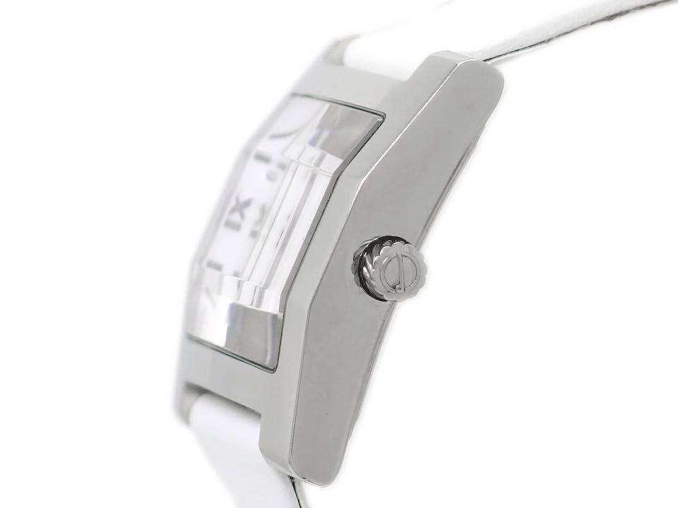 ダンヒル スクエア ファセット ダンヒリオン 8022 3面カットガラス クオーツ 2000年頃 USED