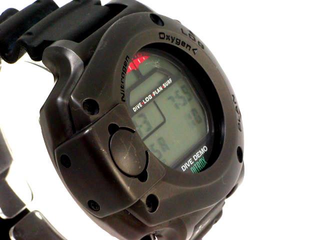 ダイブコンピューター Dive Demo DD900NXGB 200限定の黒 USED