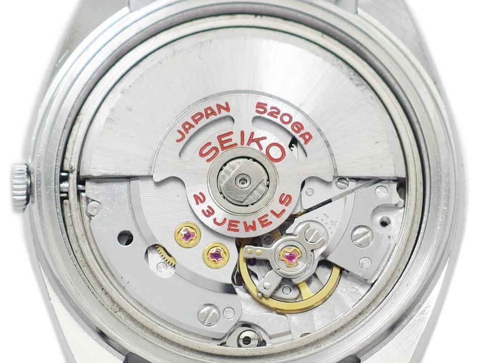 セイコー ロードマチック スペシャル 5206-6020 グレー文字盤 23石 自動巻 OH済 昭和46年/1971年製 Seiko