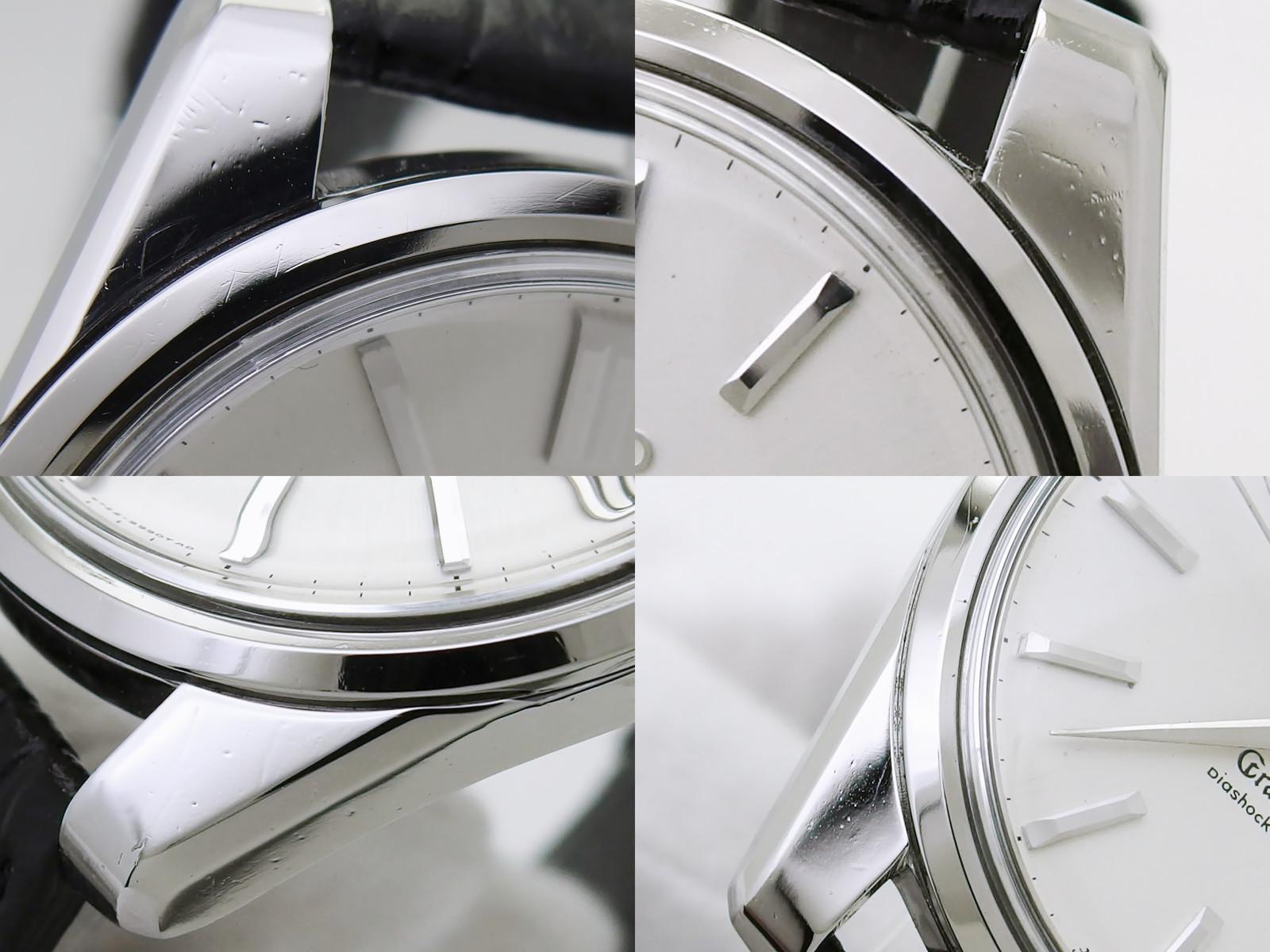 【希少】グランドセイコー セカンドモデル前期型 5722-9990 W SEIKOリューズ ライオンメダリオン 手巻 OH済 昭和40年/1965年製 Seiko