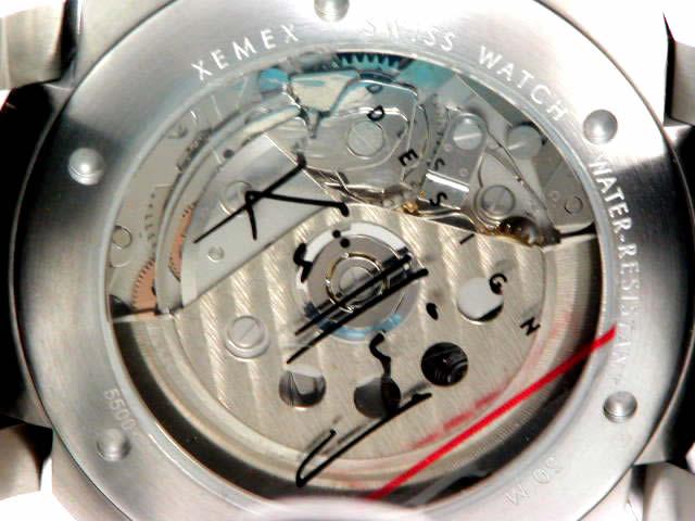 ゼメックス スピードウェイ クロノグラフ 5500 03 新品 XEMEX SPEEDWAY