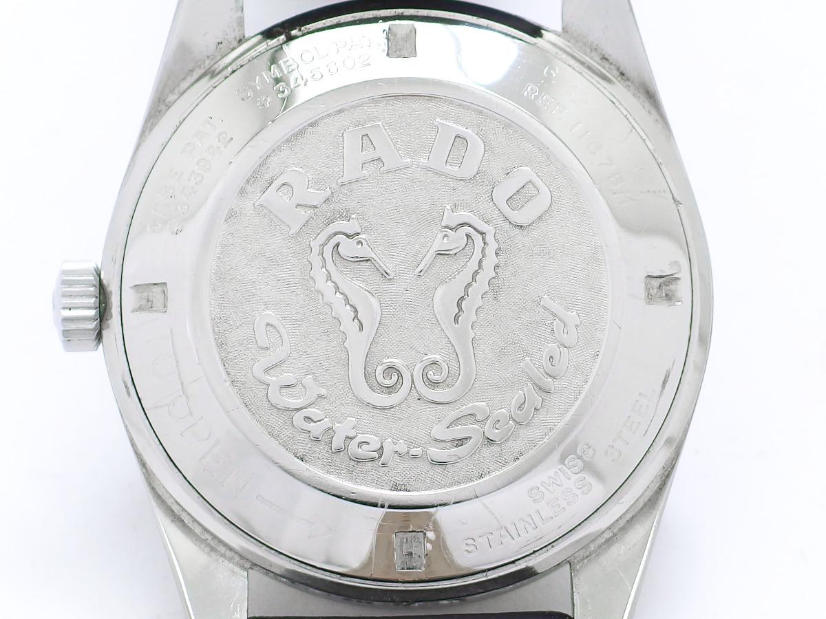 ラドー ゴールデンホース Ref.11675/1 純正リューズ 30石 自動巻 OH済 1970年代 Rado